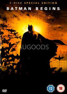 Batman Begins - Rare DVD Aus Stock -Excellent