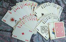 MODIANO 54 Carte da gioco Marca da Bollo DIC. 1965 Lire 500 playing cards 65'