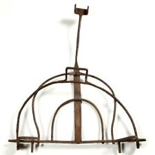 Wrought Iron Hearth Hinged Article Lot 1470