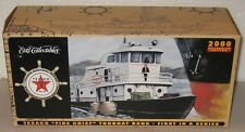 """2000 Ertl Collectibles Texaco """"Fire Chief"""" Die-Cast Tugboat Coin Bank"""