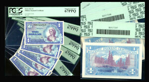 $1 MPC Series 661 -5 CONS Military Payment Certificates PCGS 67 PPQ