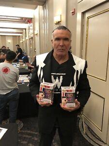 Autographed Scott Hall NWO POP Figure WWE NXT NWA WCW NWO