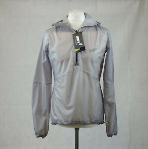 Inov8 Race Unisex Ultrashell Half Zip Jacket Gargoyle Transparent S TD014 CC 01