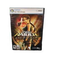 Lara Croft Tomb Raider Anniversary PC Game Rated T PC DVD-ROM