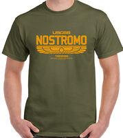 Nostromo - Retro Alien Movie - Mens Sci-Fi T-Shirt Aliens Film
