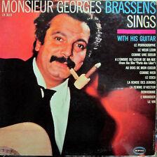 Georges Brassens – Monsieur Georges Brassens Sings With His Guitar