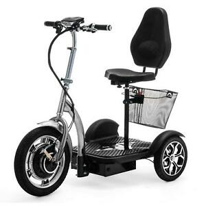 ELECTRIC MOBILITY SCOOTER 3 Wheeled 750W VELECO ZT16 3 colors