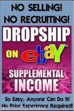 *Make $$ w/ your Own eBay Dropshipping Business ~ 22 eBooks & 700+ Dropshippers!