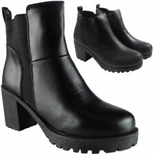 Mid Heel (1.5-3 in.) 100% Leather Ankle Boots for Women