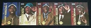 5 x Fleer Tradition 1999/00 NBA Basketball Rookie Cards ALL STARS RC