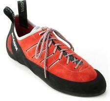 Scarpa Thunder Climbing Shoe - Mens 6 Eu 38 Parrot Red - Suede Vibram