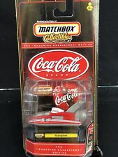 HYDROPLANE COCA COLA MATCHBOX COKE 1/64 SCALE ENDURING CHARACTERS EDT