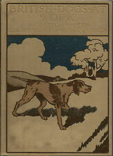 BRITISH DOGS AT WORK 20 BREEDS ILLUSTRATED BY G VERNON STOKES 1906 1ST EDITION