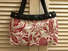 thirty-one fitted Winter Floral Purse Skirt COVER ONLY: floral handmade (custom)