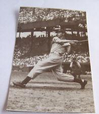 Vintage RPPC Real Photo Postcard Baseball Joe DiMaggio New York Yankees Swinging