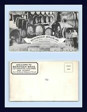 CALIFORNIA ST. HELENA NAPA COUNTY BERINGER BROTHERS WINERY MULTI VIEW CIRCA 1940