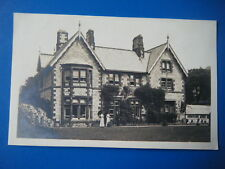 ULVERSTON RECTORY - SCARCE HARGREAVES' REAL PHOTO POSTCARD!