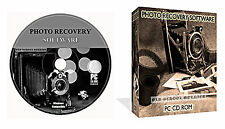 Lost Photos Pictures Images Recovery Restore Software + Data Recovery CD DISK