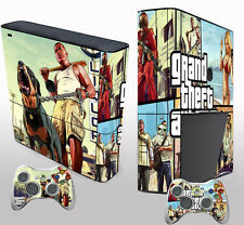 Pop Game Custom Sticker Decals Cover for X box 360 E Console & 2 Controller Skin