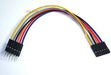 15cm 6pin Male to Female Arduino Jumper Cables Sensor Shield EQUIV - UK seller