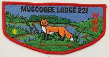 OA Lodge 221 Muscogee S11 Flap BRN arrow; CD; CB   [R346]