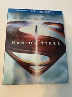 Man of Steel w/ Slipcover (Bluray/DVD, 2013) [BUY 2 GET 1]