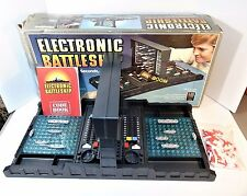 Vintage Electronic Battleship 1982 Milton Bradley Complete With Instructions