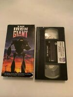 The Iron Giant VHS Video Tape
