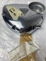 NEW! 1970 Triumph Bonneville Timing Cover w/ Plate TR6R Trophy TR6 650cc RARE!