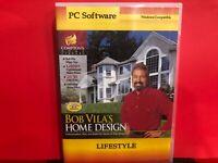 Bob Vila's Home Design Lifestyle  CD ROM PC SOFTWARE - B653