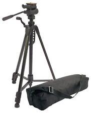 CAMLINK TPRE - 20 PRO Camera Tripod - 148cm piastra a sgancio rapido-Livello a bolla NUOVO