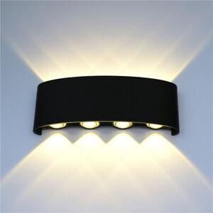 LED Wandleuchte außen IP65 Wandspot Bad Fassaden-Lampe Strahler Cube Leuchte