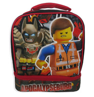 *NEW* The Lego Movie 2 Lunch box Emmet & Batman Lunch bag, Insulated Lunch box