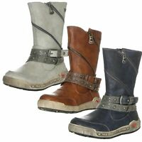 Mustang Damen Winter Schuhe Stiefel Boots Winterschuhe
