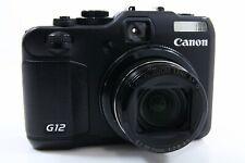 Canon PowerShot G12 schwarz, guter Zustand