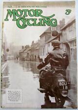 MOTOR CYCLING 15 Jan 1936 Original Motoring Motorcycle Magazine