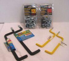 Crawford Lot of Peg Hooks & Ladder Hooks for Garage, Shed, Workshop New