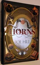 Horns by Joe Hill SIGNED by author with devilish doodle as well