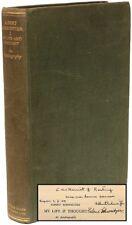Albert Schweitzer My Life & Thought An Autobiography - PRESENTATION COPY !