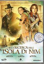 ALLA RICERCA DELL'ISOLA DI NIM - DVD (NUOVO SIGILLATO)