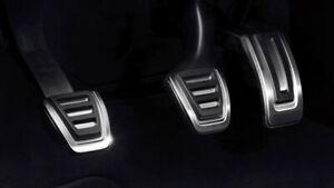 Audi  A1 8X A3 8V TT 8S Edelstahl Pedalkappen Edelstahl Set 8V1064200 Neu