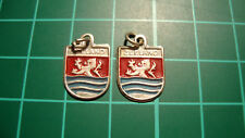 Zeeland 60s 60's Dutch hanger heraldiek ketting 2pcs