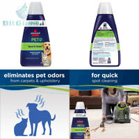 BISSELL 2X Pet Stain & Odor Portable Machine Formula, 32 ounces, 74R7, 32-Ounce