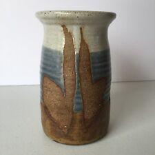 Pottery Vase Handmade Signed 6 1/2