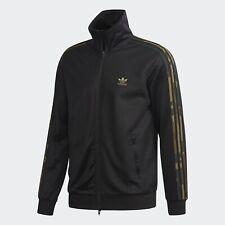 Adidas Camouflage Tracksuit Jacket + Pants 2XL XXL Black/Camo