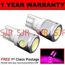W5W T10 501 XENON PINK 3 LED SMD INTERIOR COURTESY LIGHT BULBS X2 HID IL101101