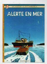 Carte Postale Tintin - ALERTE EN MER - Pastiche éditions Czarlitz 2017