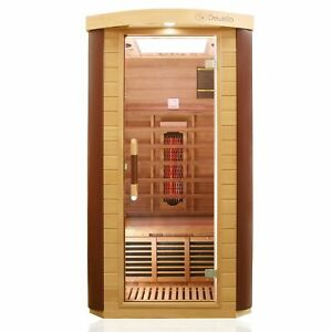 Dewello Infrarotkabine TORONTO Wärmekabine Infrarotsauna Sauna Vollspektrum