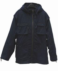 Navy Cargo Jacket