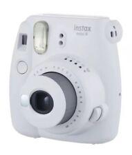 Fujifilm Instax Mini 9 Compact Instant Film Camera: Smokey White